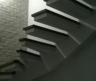 Прямая лестница без перил