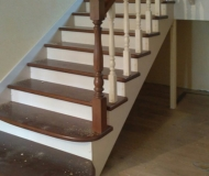 Маршевая лестница с площадкой 2