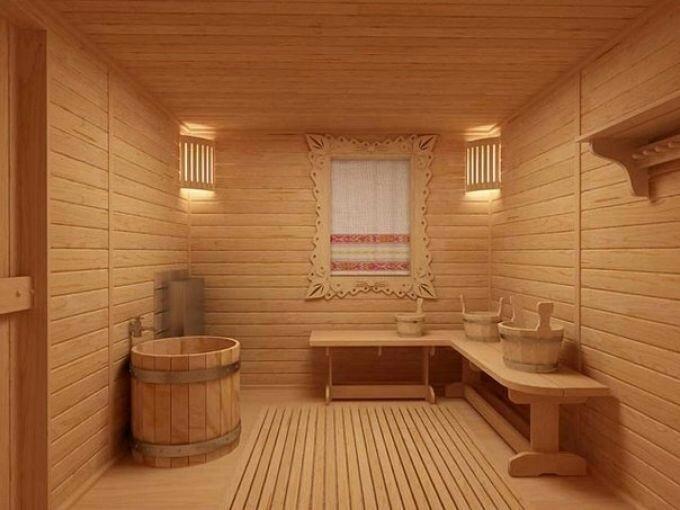 Материал для отделки бани