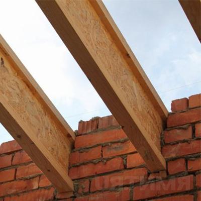 Перекрытия деревянными двутавровыми балками