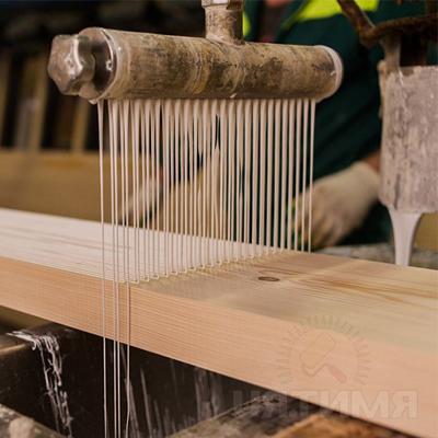 Клееный брус технология изготовления