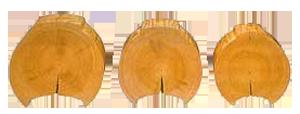 Профилированный брус или оцилиндрованное бревно