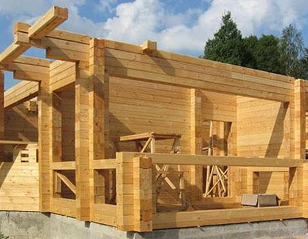 Строительство деревянных домов из бруса. Как правильно выбрать брус