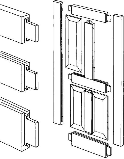 Изготовление деревянной двери. Инструменты и материалы. Ч1