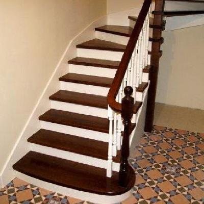 Виды деревянных лестниц