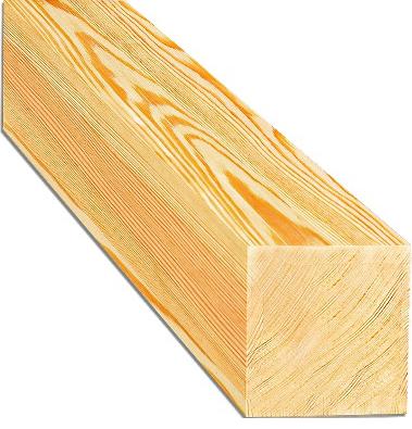 Брус деревянный строганный 150 х 200 х 6000